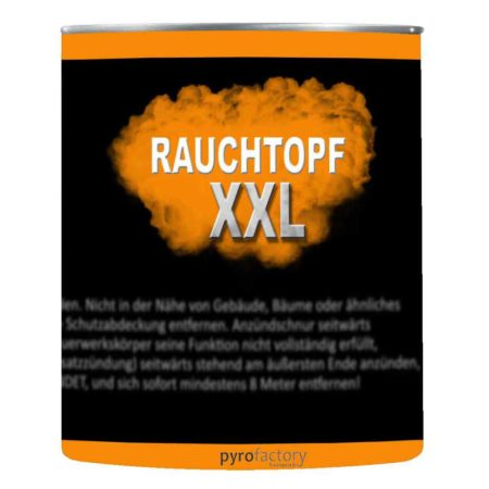 Rauchtopf XXL – Orange