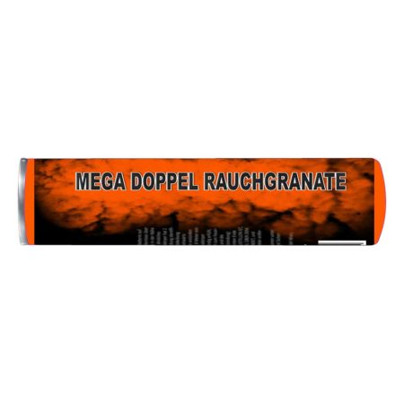 Mega Doppel Rauchgranate – Orange